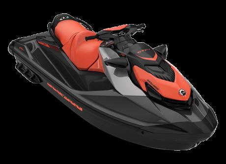 Sea-Doo GTI SE 170 éclat-corail/noir-éclipse 2022