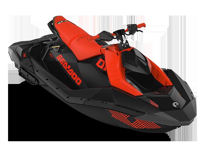Sea-Doo SPARK TRIXX 3 up rouge-lave/noir-profond 2022