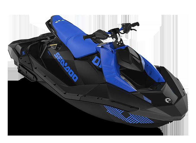 Sea-Doo SPARK TRIXX 3 up bleu-éclatant/noir 2022